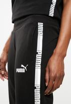 PUMA - Tape detail pants - black