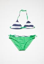 POP CANDY - Striped colour block bikini - multi