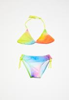 POP CANDY - Rainbow printed bikini - multi
