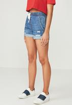 Supré  - The south beach jogger short - blue