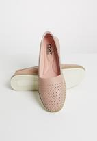 edit - Leather pumps - pink