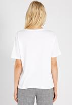 Supré  - Graphic tee - white