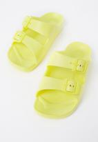 Cotton On - Twin strap slide - yellow