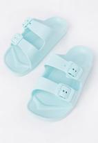 Cotton On - Twin strap slide - blue