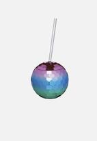 Kitchen Craft - 560ml Disco drinks bowl - purple & blue