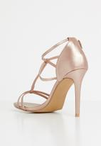 STYLE REPUBLIC - Strappy heels - rose gold