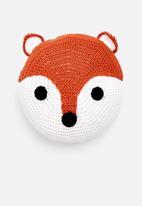 Little Love - Fox face cushion