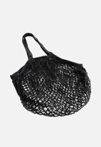 Sixth Floor - Net bag shopper - black