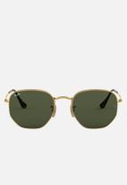 Ray-Ban - Ray-Ban Hexagon Sunglasses - Gold