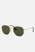 Ray-Ban - Ray-Ban Hexagon Sunglasses - Gold