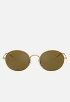 Ray-Ban - Ray-Ban Oval Sunglasses Gold