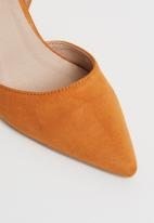 Superbalist - Greta stiletto pump - orange