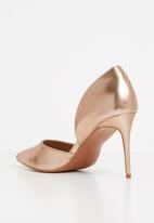 Superbalist - Greta stiletto pump - rose gold