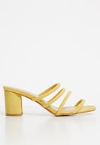 Superbalist - Block heel - yellow