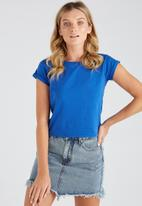 Supré  - Baby tee - blue