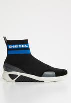 Diesel  - S-KB sock - black/blue/white