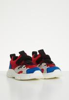 POP CANDY - Faux suede mesh sneaker - multi