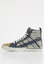 Diesel  - D-valows mid lace - navy