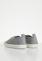 POP CANDY - Lace up sneaker - grey