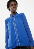 ONLY - Macy shirt - blue