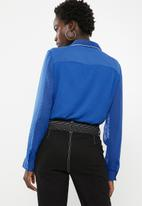 ONLY - Macy shirt - blue