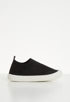 POP CANDY - Knitted slip on - black