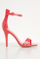 Dolce Vita - Nolan ankle strap heels - orange