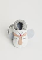 shooshoos - Dragon fly slip on - white