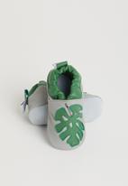 shooshoos - Palm trees slip on - green