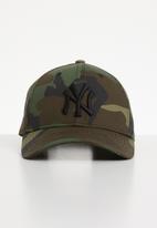 New Era - League essential NY Yankees - khaki, brown & black
