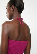 edit - Multi-wear strap dress - pink