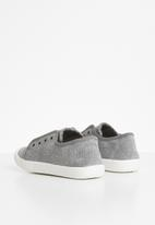 POP CANDY - Canvas slip ons - grey