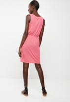 edit - Sleeveless day dress - pink