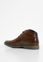 Gino Paoli - Derby lace up boots - brown