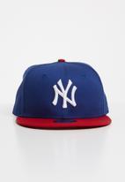 New Era - New Era cotton block 9fifty cap - blue