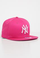 New Era - New Era league basic cap - pink