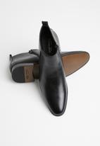 Gino Paoli - Plain derby boots - black