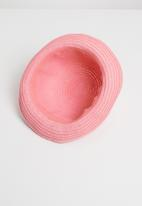 POP CANDY - Straw hat mid - pink