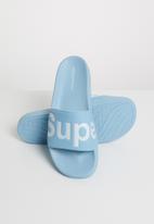 SUPERGA - 1908 puu soft slide - blue