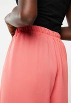 edit - Wide leg lounge pants - pink