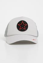 POP CANDY - Star peak cap - pale grey