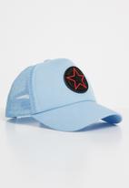 POP CANDY - Star peak cap - pale blue