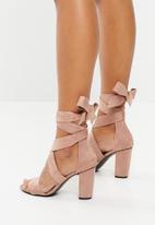 Superbalist - Fiona strappy block heel - pink