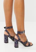 Superbalist - Luna buckle detail heel - navy