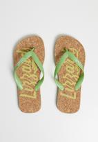 Lizzard - Amzi flip flop - green