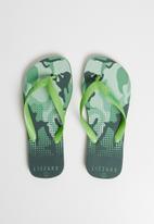 Lizzard - Comfort flip flop - khaki
