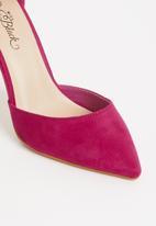 Miss Black - Tinuka ankle strap heels - pink