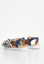 Rock & Co. - Cheetara sandals - navy & cream