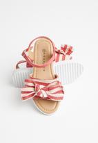 Rock & Co. - Cheetara sandals - red
