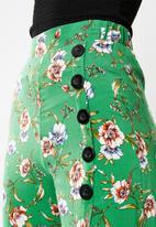 Superbalist - Button detail culotte - multi